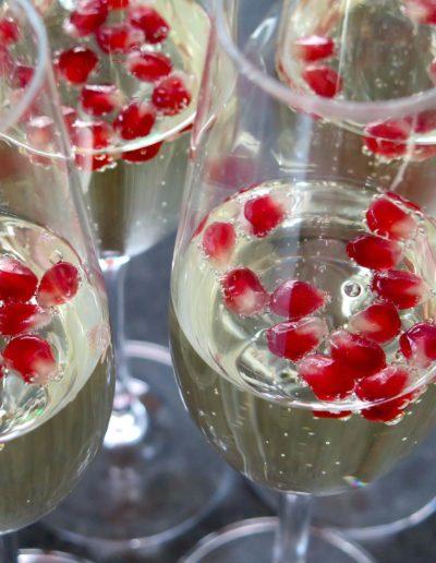 photos de verres de champagne