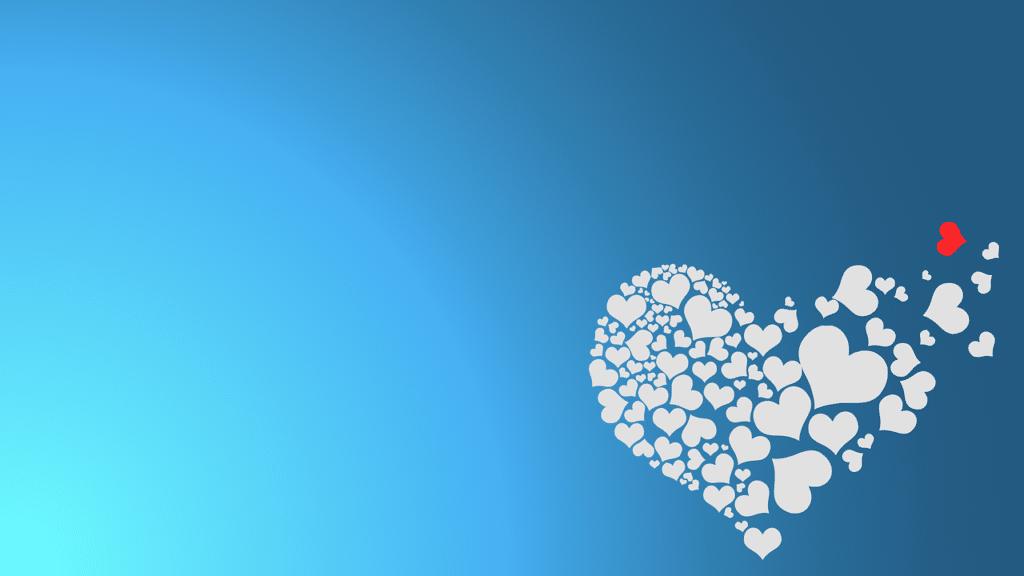 un coeur qui se dissout