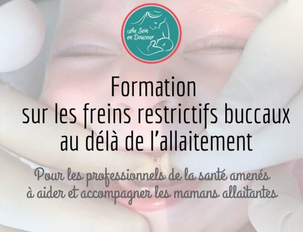 Formation freins restrictifs buccaux