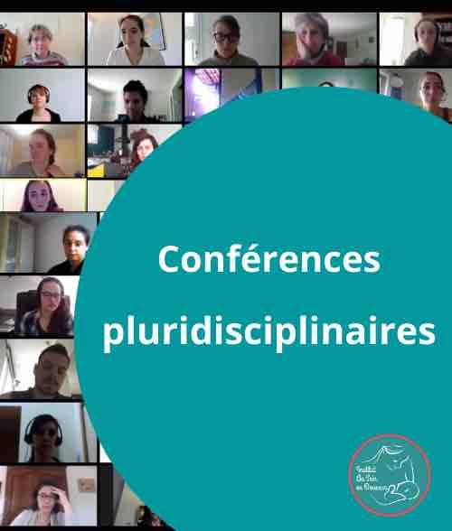 Photo illustrant les conférences pluridisciplinaires de la formation Freins restrcitifs de niveau 2.